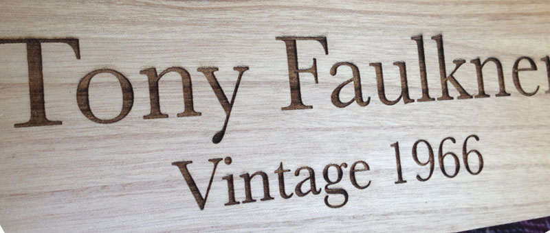 personalised wooden wine boxes front