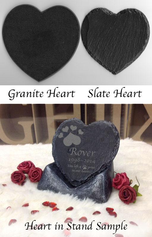Pet Memorial in Slate and granite