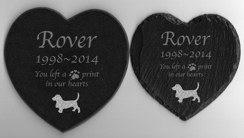 Pet memorial Basset Hound