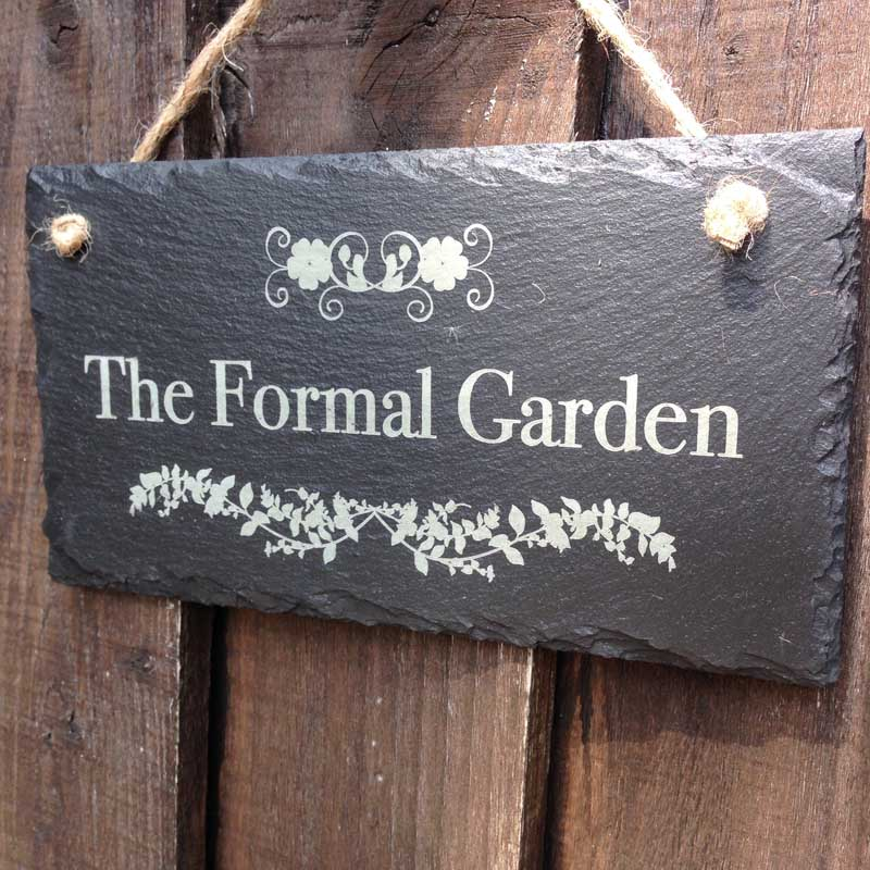 personalised garden signs 100