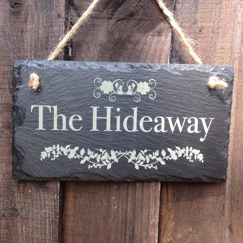 personalised garden signs 101