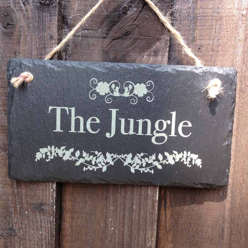 personalised garden signs 103