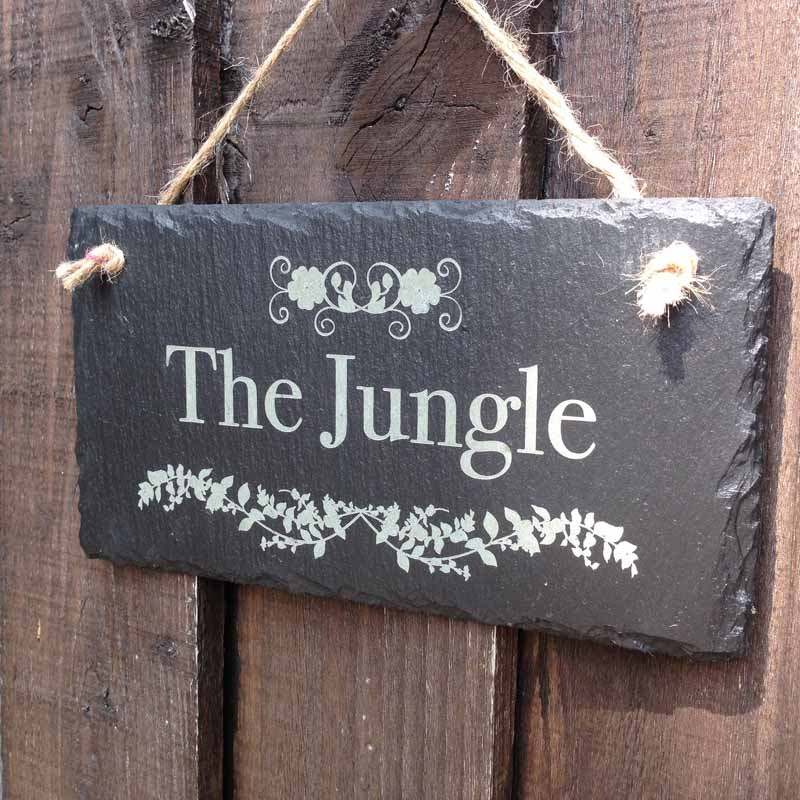 personalised garden signs 104