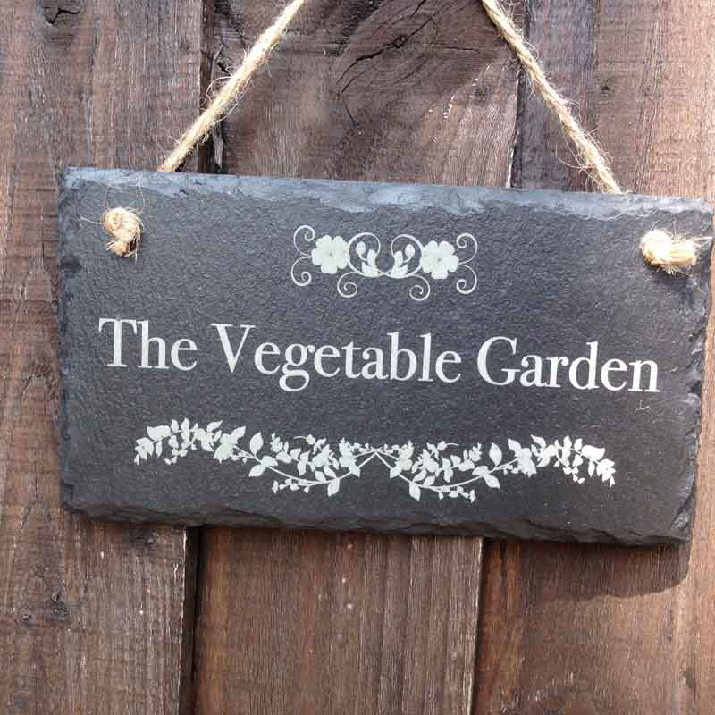 personalised garden signs 105