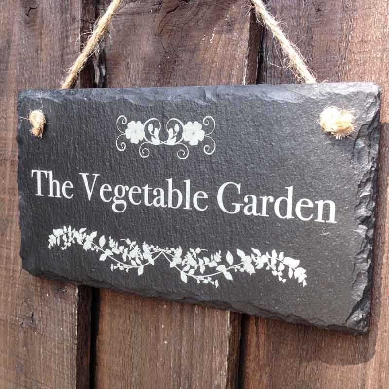 personalised garden signs 106