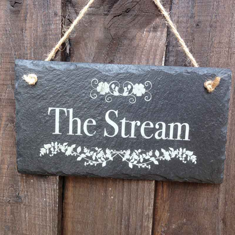 personalised garden signs 109