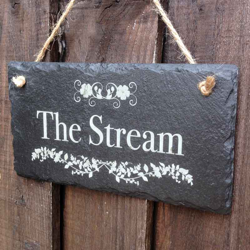 personalised garden signs 110