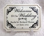 wedding personalised plaques