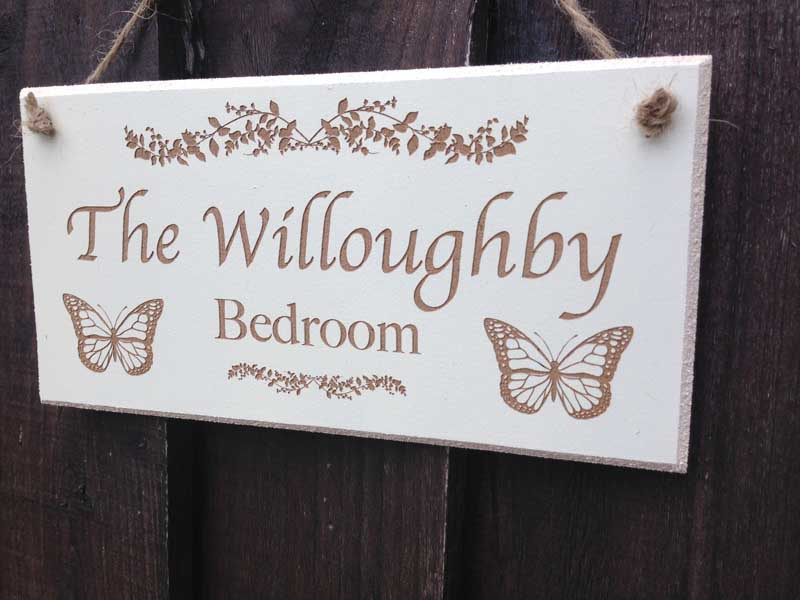 personalised bedroom signs 14