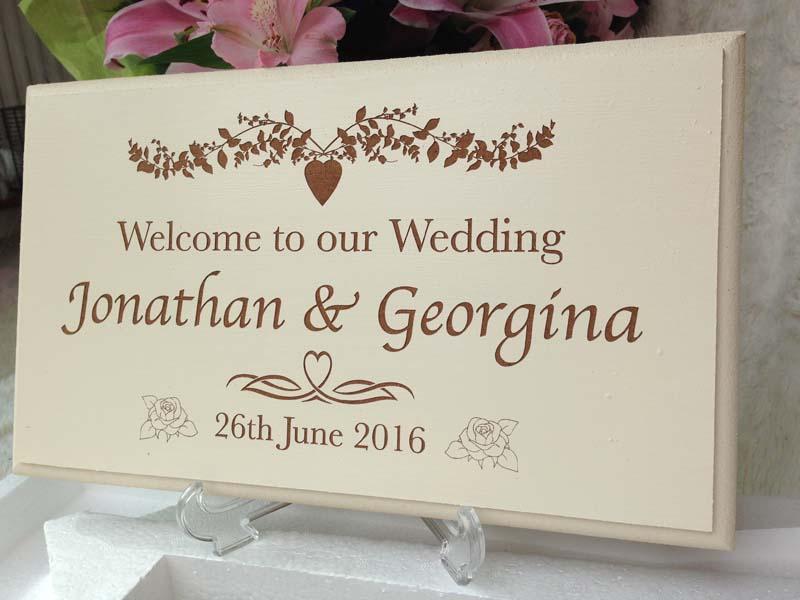 bespoke wedding signs new 2
