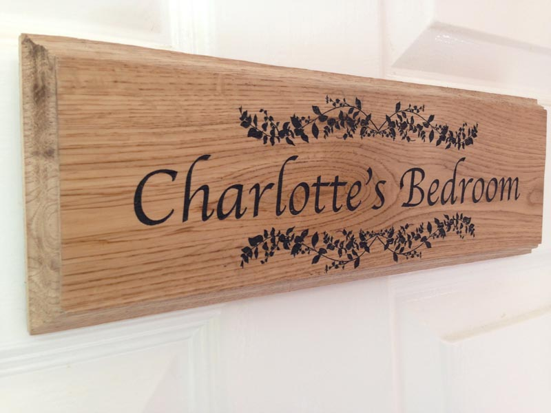 Personalised Oak Signs Personalised Garden Signs