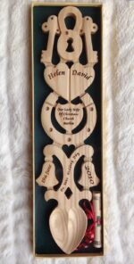 welsh love spoons personalised
