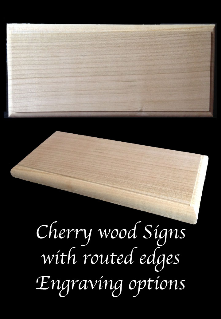 cherry-wood-signs