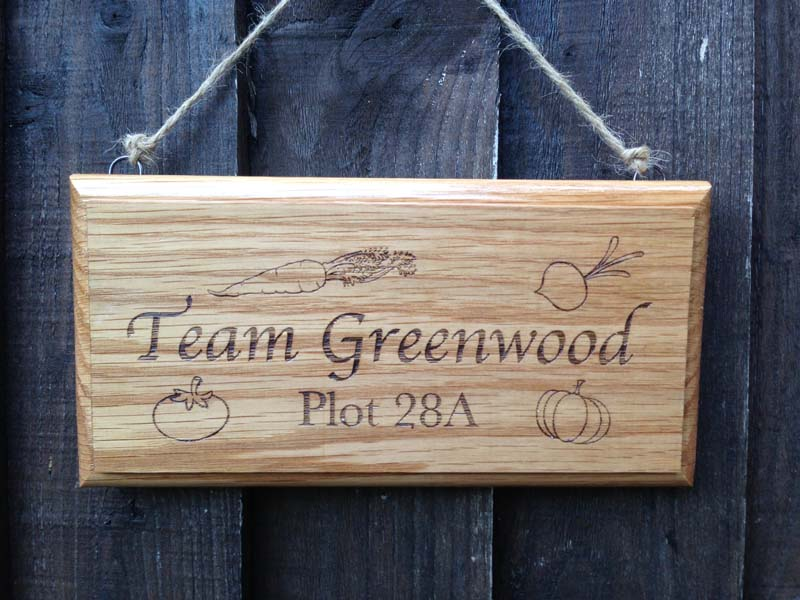 Garden Shed Sign