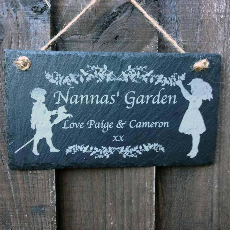 vintage slate sign