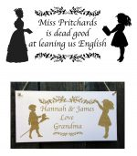 teacher personalised signs