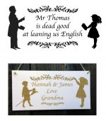 teacher personalised signs 2