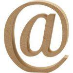Wooden Letter @
