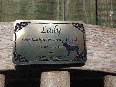 pet memorial plaques for cats