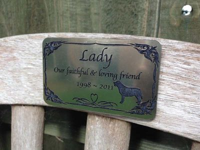pet memorial plaques for dogs