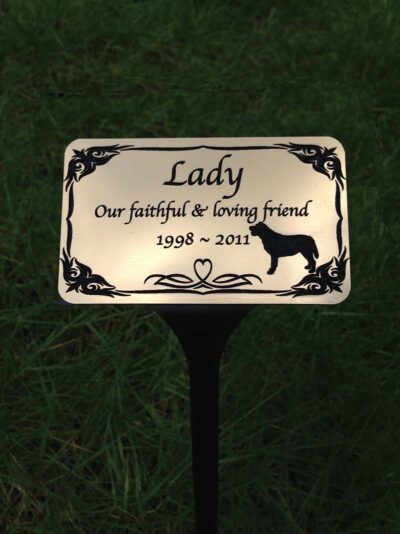 pet memorials plaques for garden