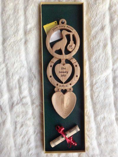 christening welsh love spoon 09