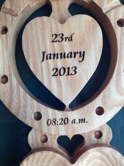 christening welsh love spoon 12