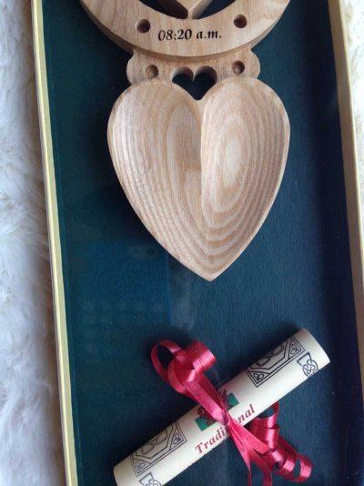 christening welsh love spoon 13