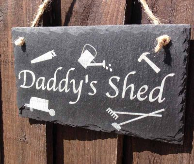 garden shed signs for dads