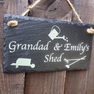 garden signs engraved 3