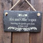 personalised garden signs 111