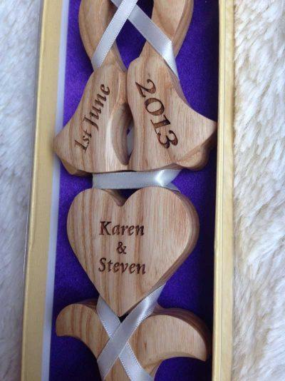 personalised welsh love spoon 013