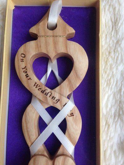 personalised welsh love spoon 014