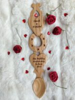welsh love spoon H72 detail 1
