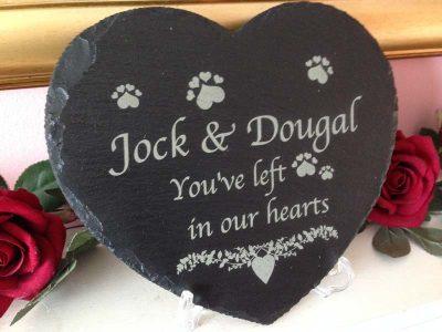 pet memorial large slate heart main 2