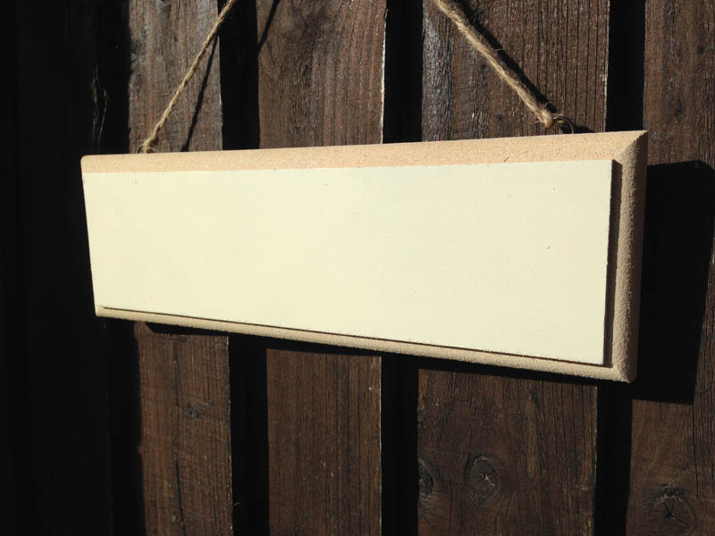 Design A Wooden Sign 30cm X 10cm Personalised Garden Signs Design A Sign