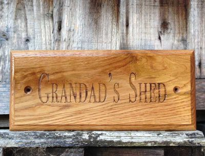 personalised-oak-shed-signs