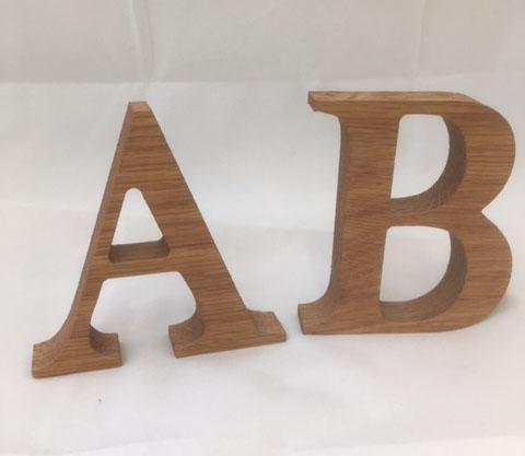 Oak Letters